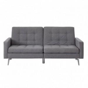 Sofá cama de 3 plazas RUNA color gris de 192 cm