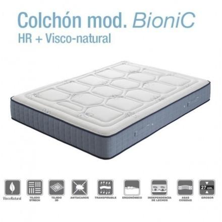 Colchón BioNic de HR con Viscoelastica natural