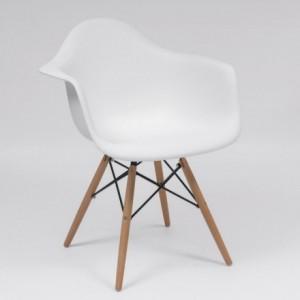 Sillón de polipropileno DSW inspiración sillón Tower de Eames