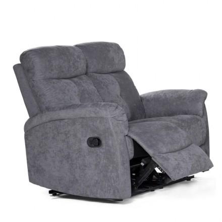 Sofá de 2 plazas NAPOLEÓN con sistema relax manual de 136 cm
