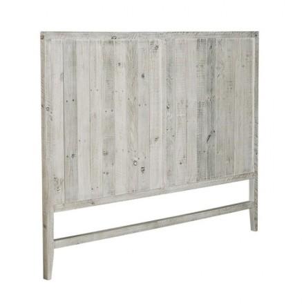 Cabecero WOODY de madera de pino reciclada 150 cm