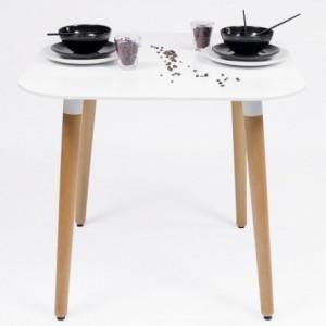 Mesa de comedor de diseño nórdico NORDIK 80x80 cm