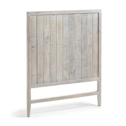 Cabecero WOODY de madera de pino reciclada 90 cm