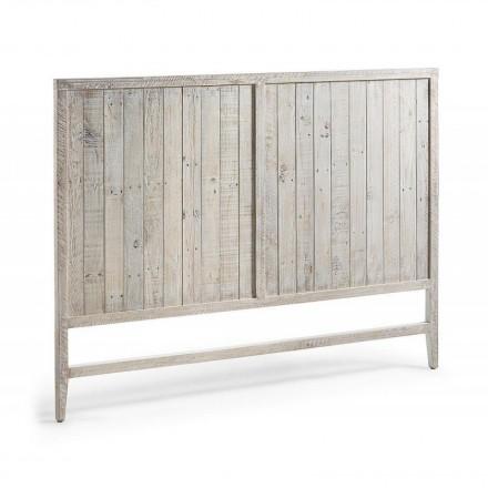 Cabecero WOODY de madera de pino reciclada 160 cm