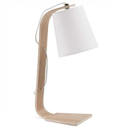 Lámpara de mesa PERCY blanco
