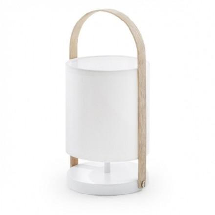Lámpara de mesa ZAYLA blanco