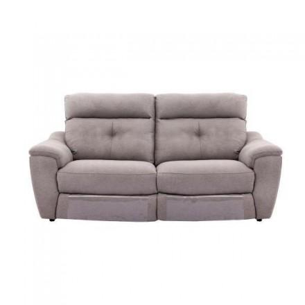 Sofá de tres plazas BAHÍA con sistema relax eléctrico de 206 cm