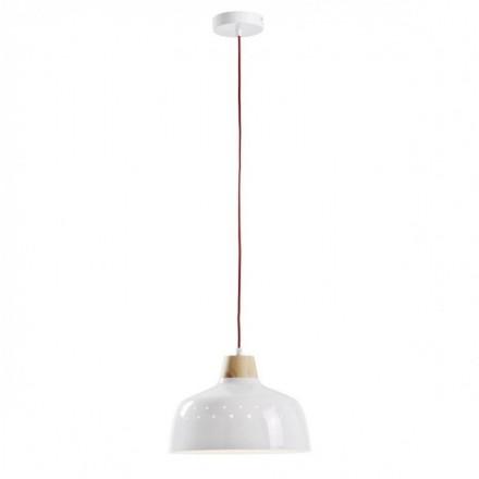 Lámpara de techo BITS metal blanco