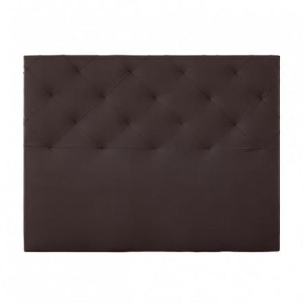 Cabecero CHOCOLATE tapizado en polipiel color choco 150 cm