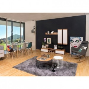 Mueble de salón modular LUCKY de 203 cm