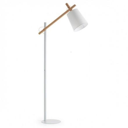 Lámpara de pie JOVIK diseño nórdico blanco