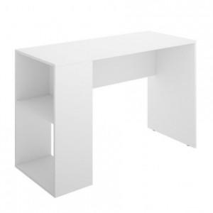 Mesa escritorio juvenil CHIC tablero de partículas melaminizado color blanco, fucsia o azul 205x107x120 cm